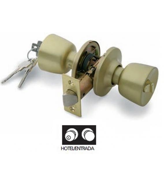 Pomo puerta 60mm cromo mate TESA 3502U0CM