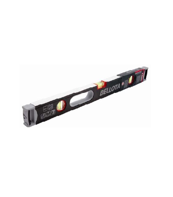 Nivel de aluminio tubular magnético 100cm BELLOTA