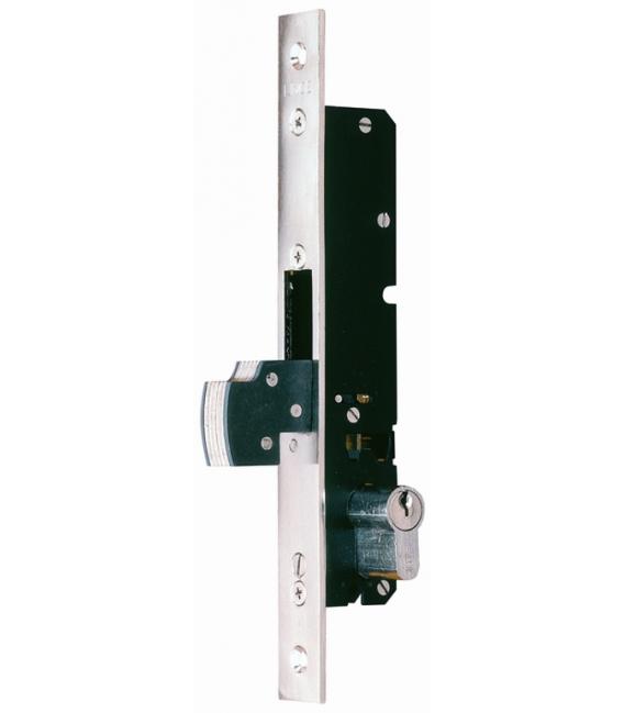 Cerradura Metálica Embutir 20x20mm 5592N20 Níquel Gancho/Reforzado. LINCE