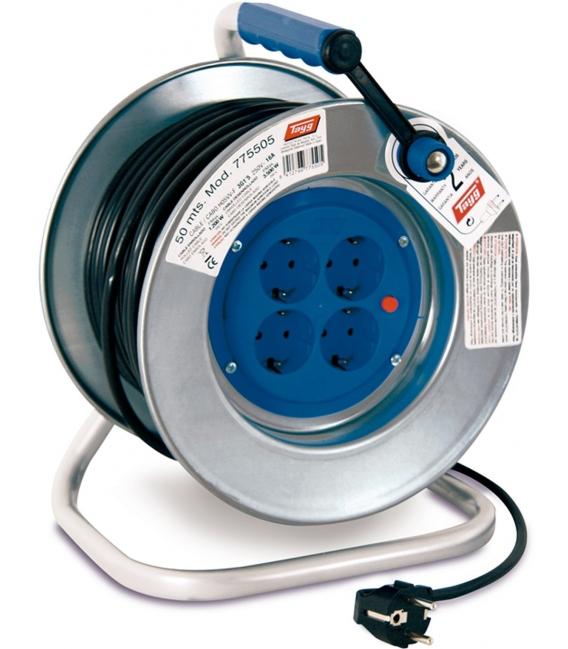 Enrollacable electricidad 50mts TAYG