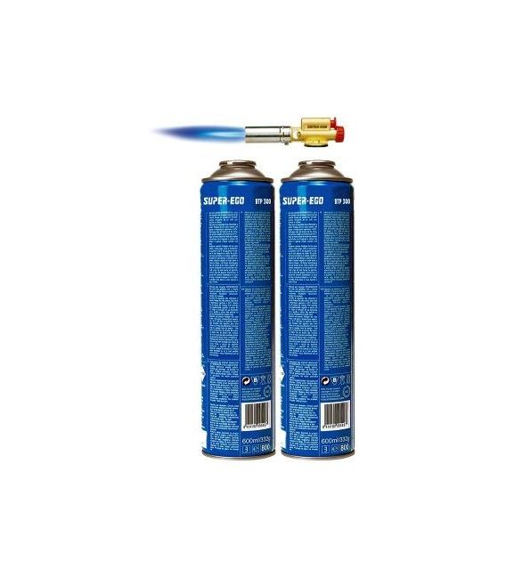 Soplete a gas cartucho piezoeléctrico. SUPER EGO