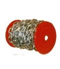 Cadena zincada eslabón recto 3mm / 10 Kg. CIRO