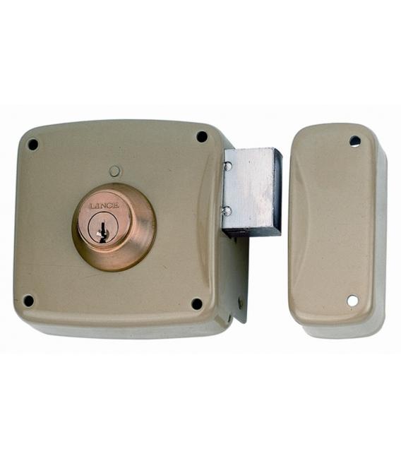 Cerradura sobreponer 80x42mm LINCE 5124AHE08D