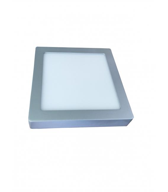 Foco downlight LED 20W Plata MEGALED