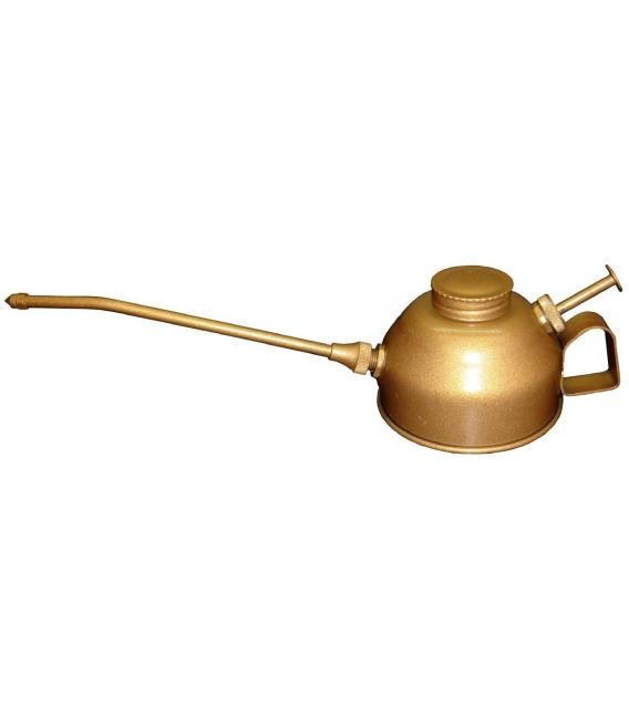 Aceitera Industrial Engrase 250 CC Manual Tipo Botón Metal. MATO