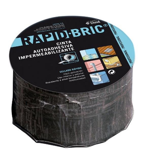 Cinta adhesiva natural 0,16mtsX12mm RAPID BRIC