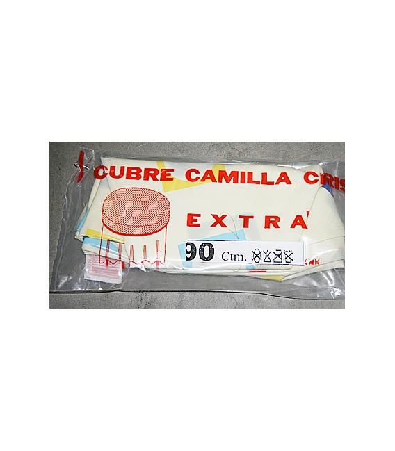 CUBRE CAMILLA SEMIHULE ESTAMPADO 100CM