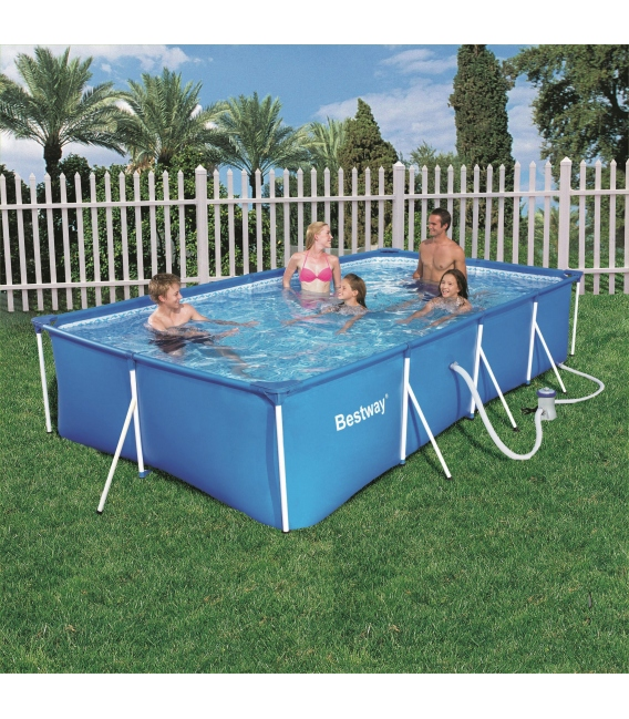 piscina port til bestway splash frame pools bricovel