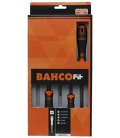 Destornillador Plano/Recta/Phillips/Extracorto Bahcofit  8 Pz. BAHCO
