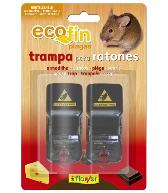 TRAMPA RATONES MECANICA ECOFIN 2 PZ