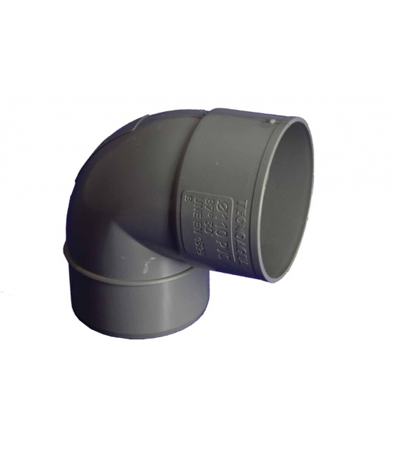 CODO EVAC M-H 87º 110MMØ PVC