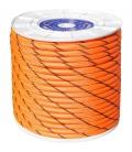 Cuerda trenzada 14mm naranja/negro 100 MT Nylon. HYC