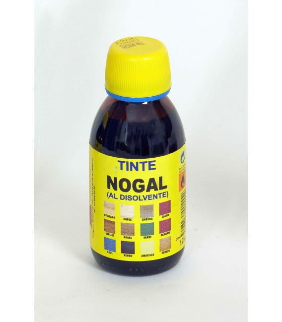 TINTE AL DISOLVENTE NOGAL 125 ML