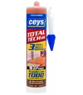 Adhesivo sellador 290ml Marrón CEYS Total Tech