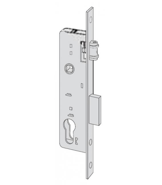 Cerradura metálica embutir 35mm CISA 44670350New Fori