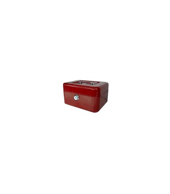 Caja de caudales Nº2 Rojo BTV