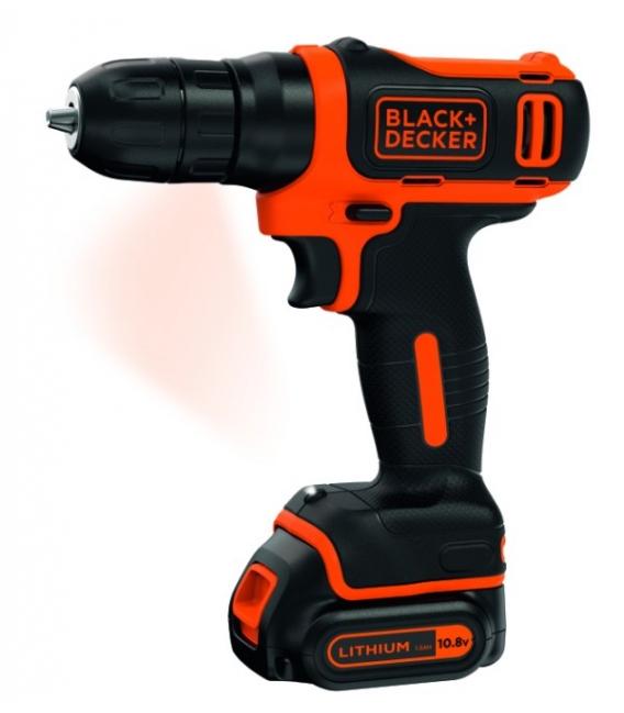 Taladro atornillador 10mm BLACK&DECKER BDCD12K