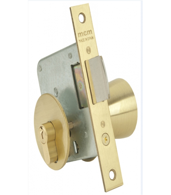 Cerradura pomo 22x60mm 1561 3-60. MCM