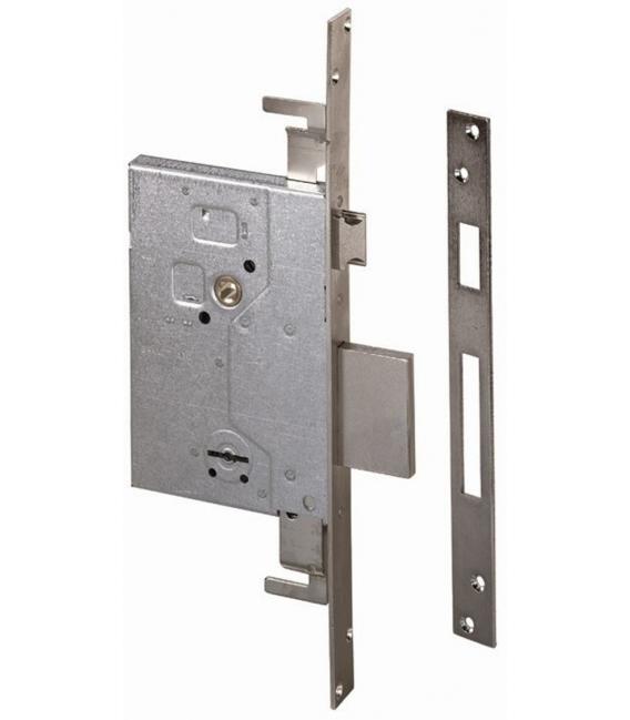 Cerradura Metalica Embutir 1.57255.60.0 Picaporte/Palanca. CISA