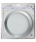 Foco iluminación Downlight LED 20W 1800LM 6400K Plata. STARSON