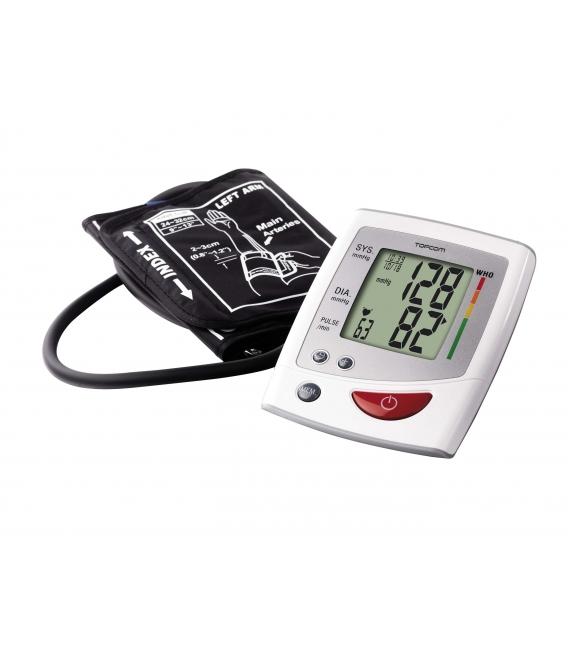 Tensiómetro de brazo digital memoria. TOPCOM