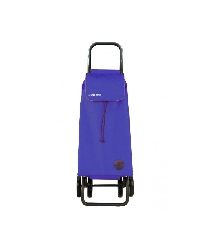 Carro compra 4 ruedas plegable rolser i max mf azul bricovel - Carro compra plegable ...