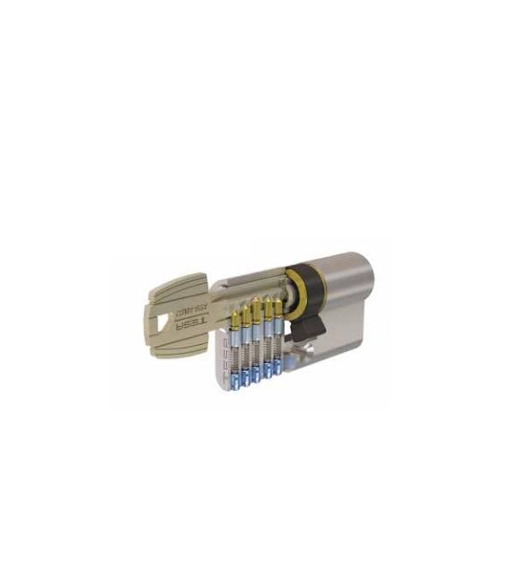 Cilindro 40x40mm t5nv04040l Laton Leva larga. TESA