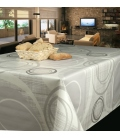 Hule de mesa gris 1,40x20m TEPLAS