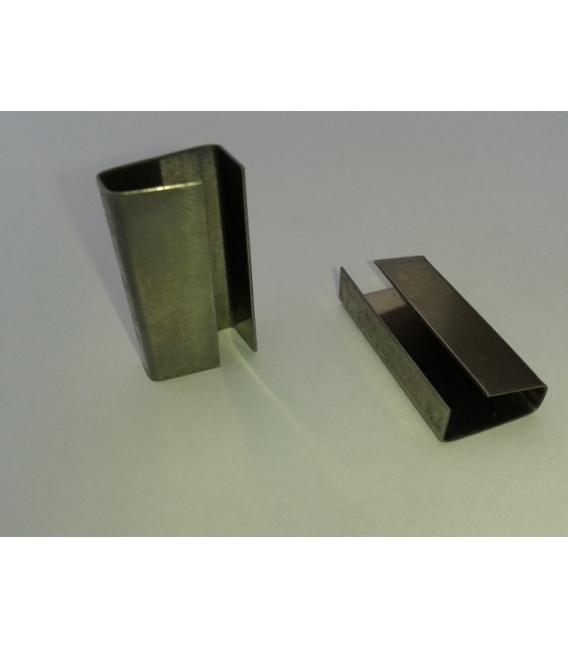 Precinto Fijacion Fleje 16mm Abierto Metal 3.000 Pz. TELLE