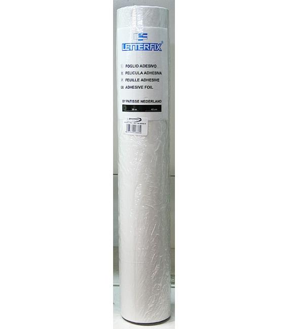 Papel adhesivo blanco brillo 45x20mts TEPLAS