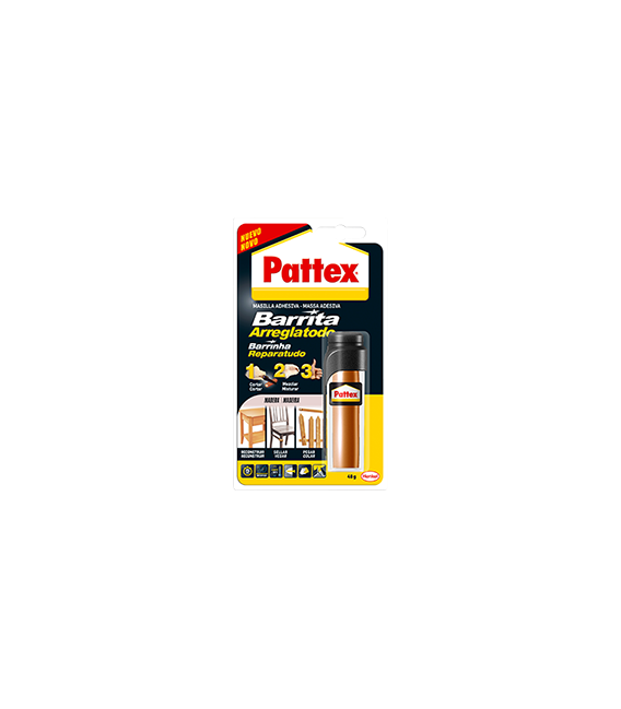 Barrita arreglatodo adhesiva para MADERA. PATTEX