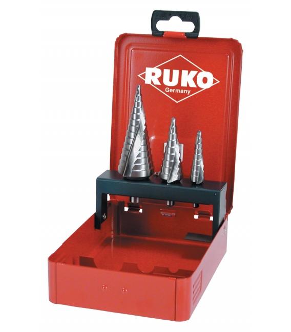 Broca Metal escalonada 3 Pz. RUKO