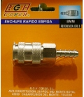 ENCHUFE NEUM 8 MM RGH-8