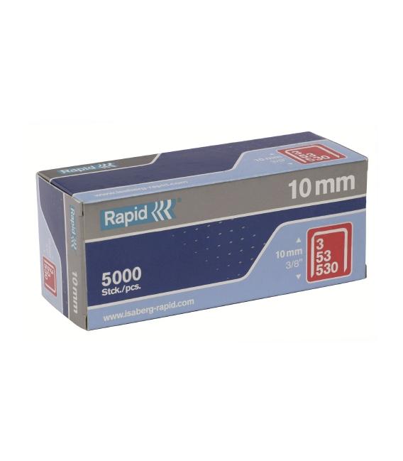 GRAPA MODELO 53 FINA 10MM 5.000 PZ