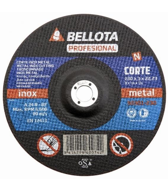 DISCO CORTE 230x3x22 MM
