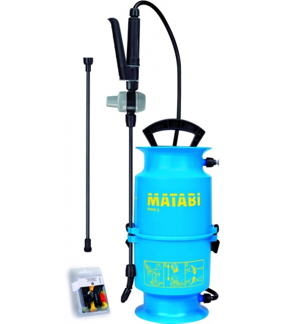 Pulverizador agrícola 4Lt presión previa. MATABI