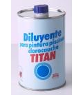 DILUYENTE PINT PISCINA 1 LT TITAN