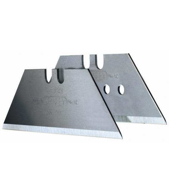 Cuchilla cutter trapezoidal 100piezas STANLEY