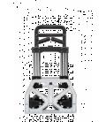 Carretilla aluminio superplegable S200 CARRIVAN