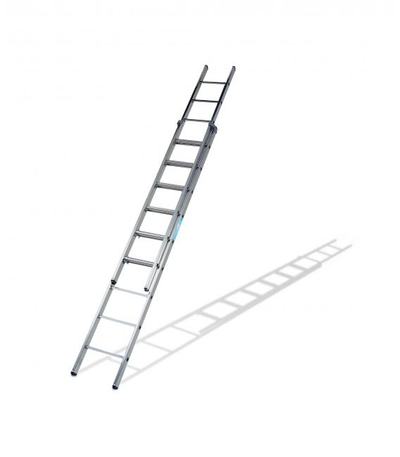 Escalera de apoyo aluminio 6,19mts KTL