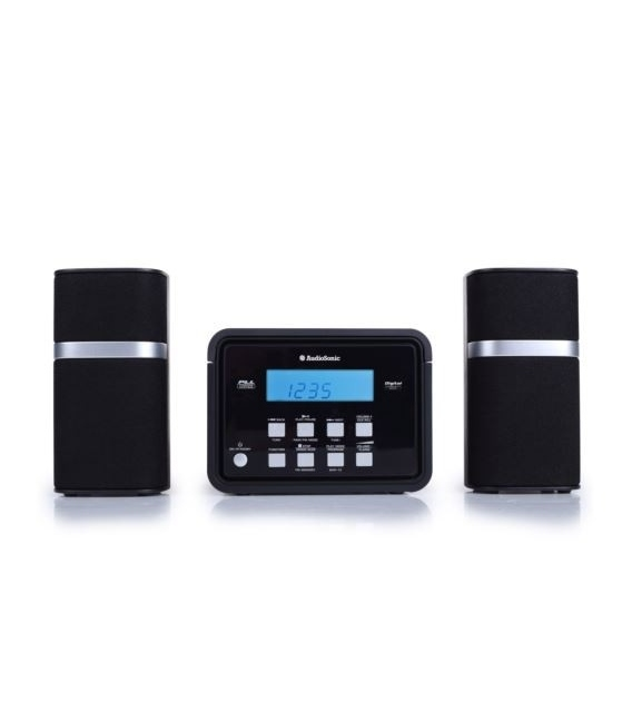 Minicadena CD - 2 x 3 Vatios HF-1251 AUDIOSONIC