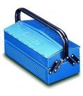Caja de herramientas 330x175x140mm metal. HECO