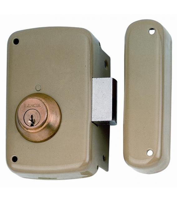 Cerradura sobreponer 60x33mm LINCE 5056CHE60D