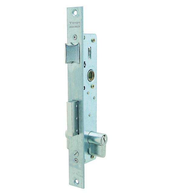 Cerradura Metálica Embutir 25X30Mm 2210303Ai Inox Picaporte/Palanca Basculante. TESA