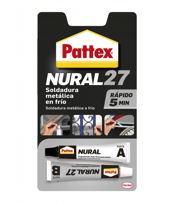 SOLDADURA REP. METAL GR 120 ML PATTEX