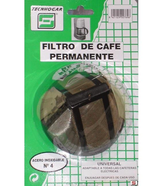 FILTRO CAFE PERM.METALICO 769
