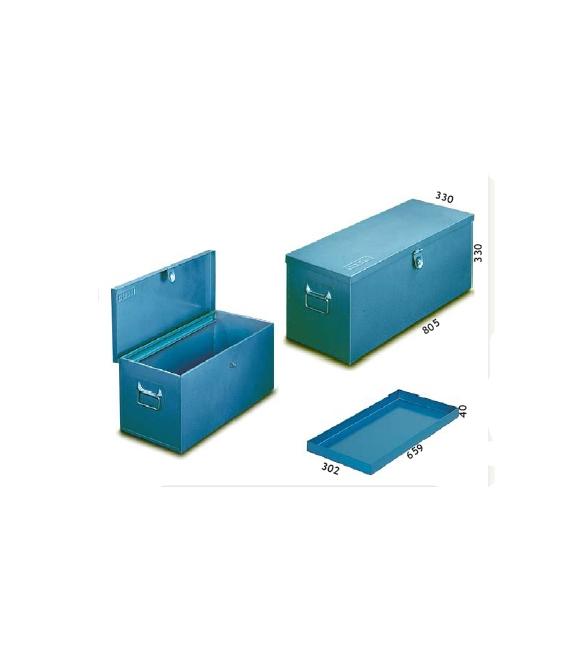 Arcón taller con bandeja 32,74 kg  805x330x330mm. HECO