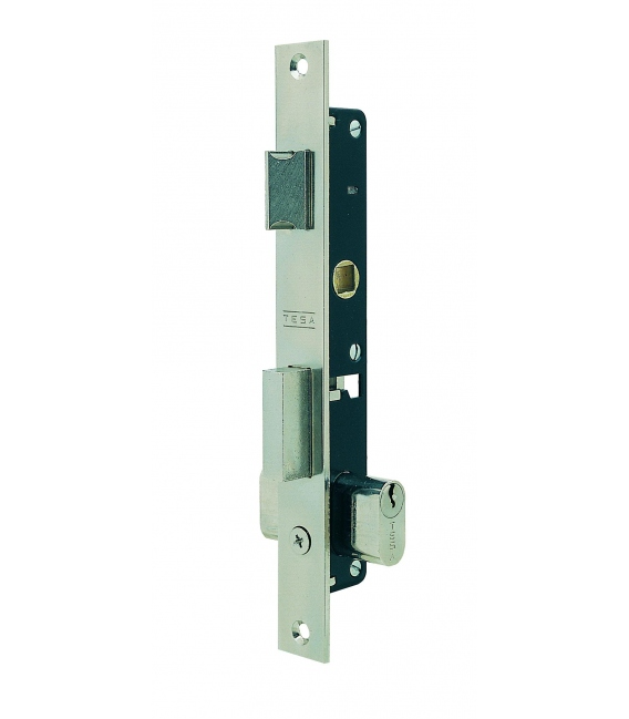 Cerradura Metálica Embutir 23x11,5mm 222012Nm Níquel Picaporte/Palanca Deslizante. TESA
