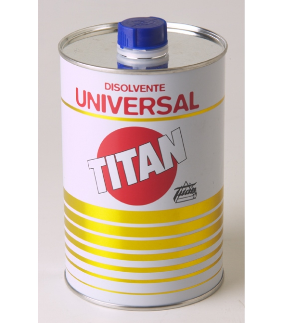 Disolvente universal 5 LT. TITAN