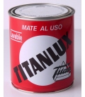 PINTURA MATE INT. BLANCO 750 ML